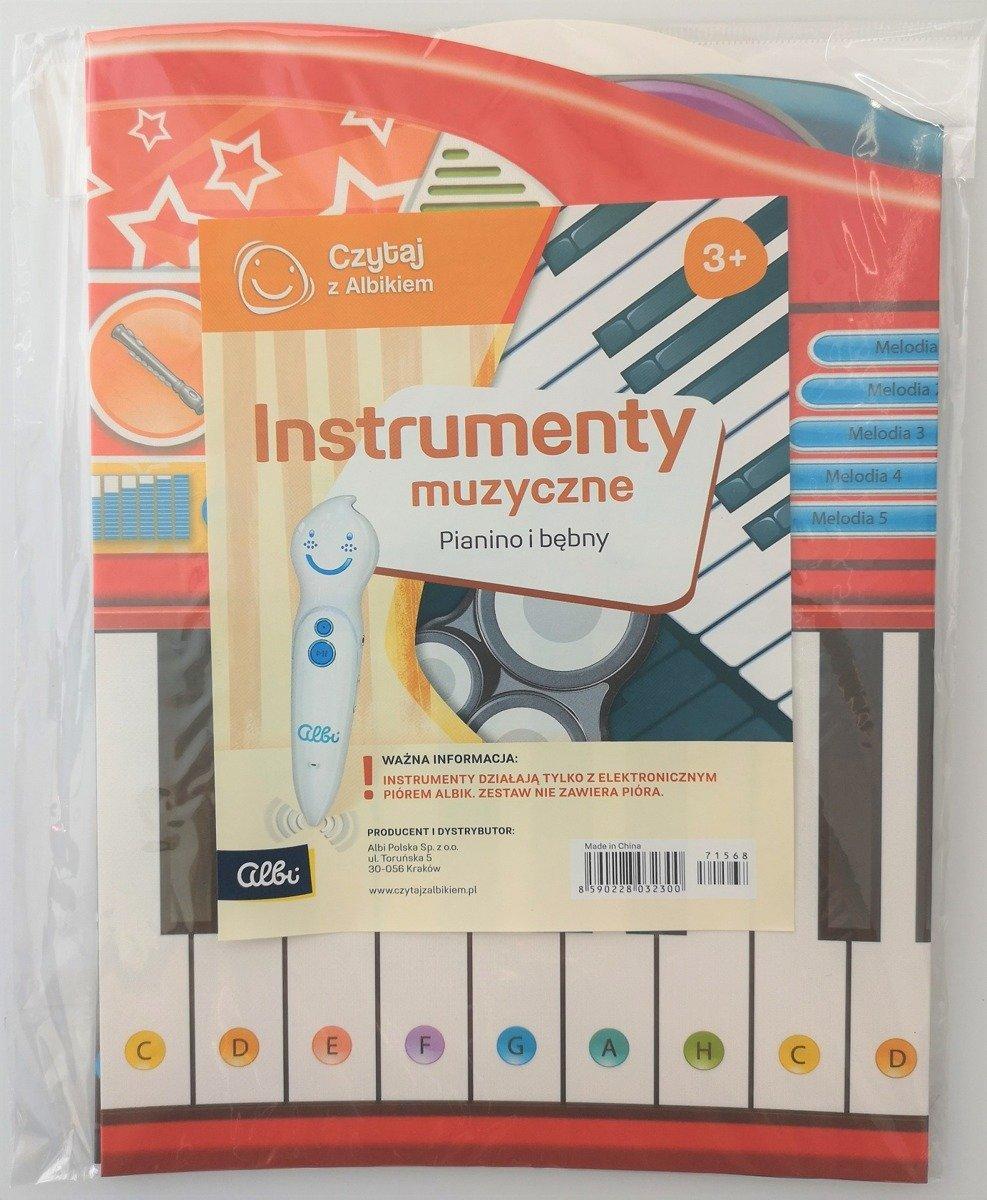 Albik Czytaj Z Albikiem Instrumenty Muzyczne Pianino I Bębny