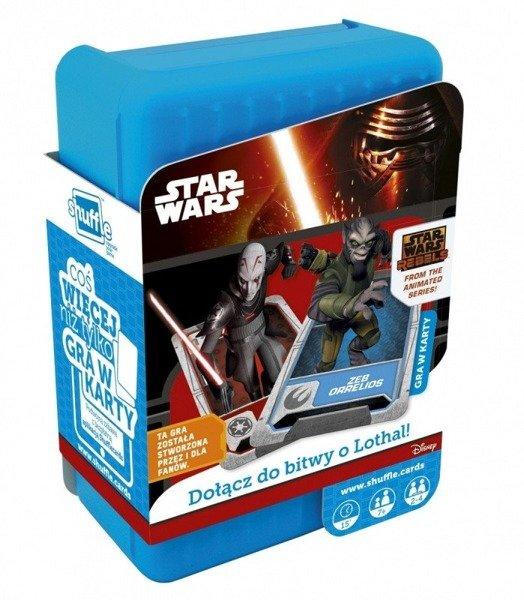 Cartamundi Gra Shuffle Star Wars Rebels Do Zabawy Gry Planszowe