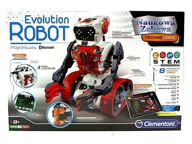 0e5060681b83 Clementoni Programowalny Evolution Robot