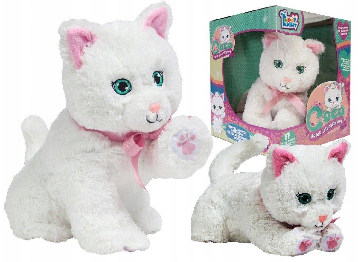 Tm Toys Kot Interaktywny Coco 12 Funkcji Do Zabawy Maskotki