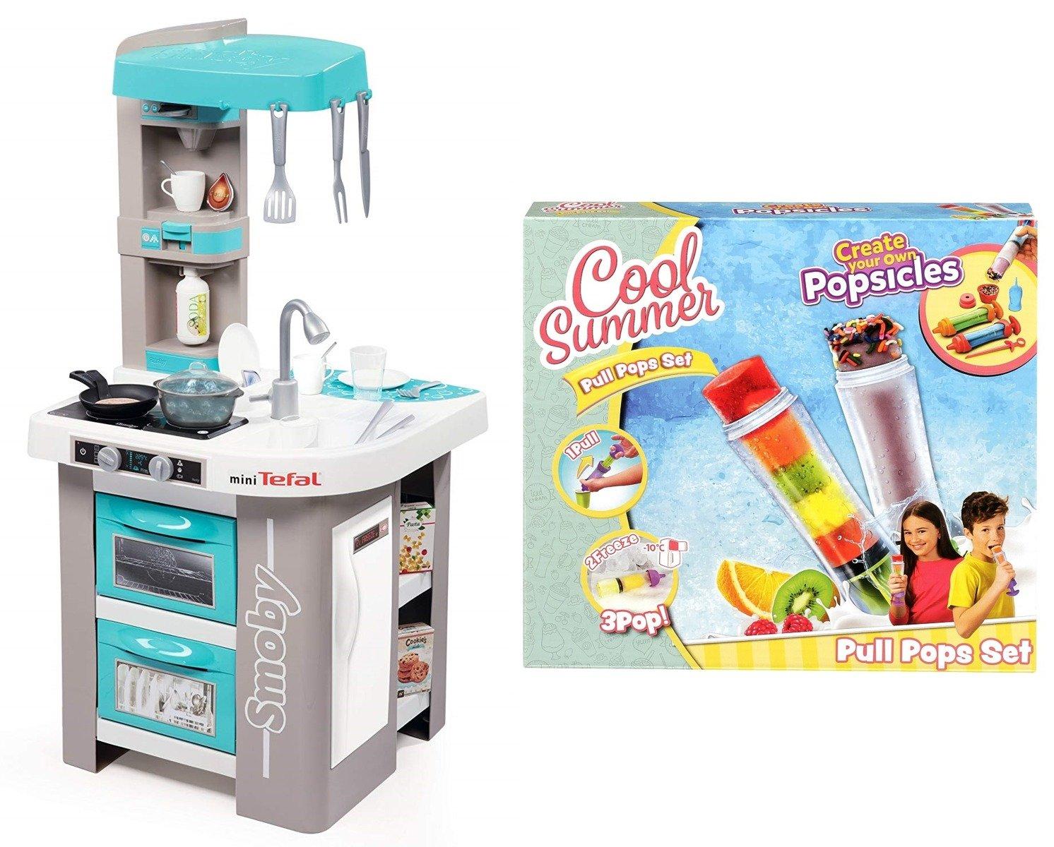 Kuchnia Dla Dzieci Mini Tefal Studio Bubble Smoby Zestaw Do Robienia Lodów Pull Pops