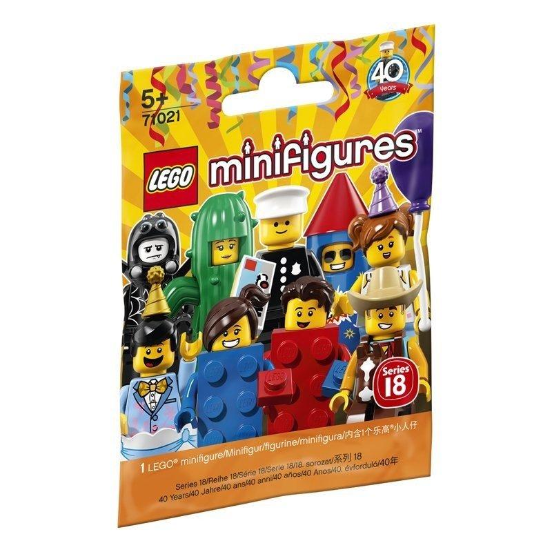 Lego 71021 Minifigurki Seria 18 Impreza Do Zabawy Klocki