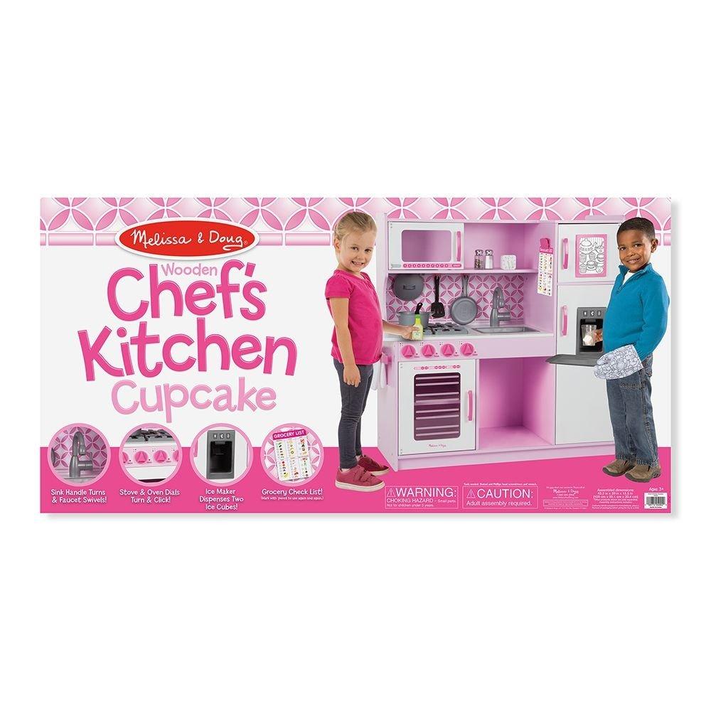 Melissa Drewniana Różowa Kuchnia Dla Dzieci Oversize Gigant