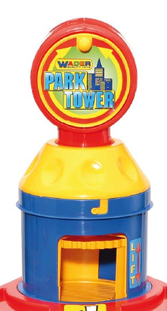 Wader Parking 7 Poziomów 2 Autka Tor Garaż Winda Do Zabawy
