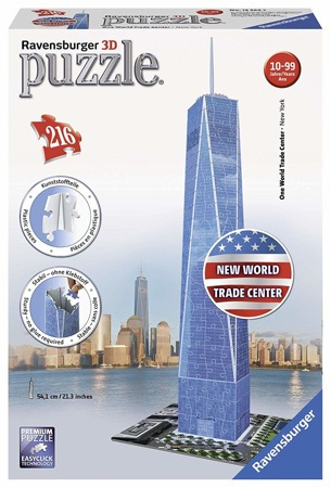 Puzzle 3D 216 el One World Trade Center