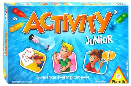 Activity Junior - kalambury dla 8-latków