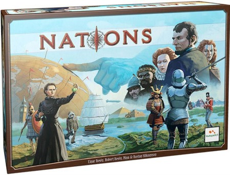 Nations - Asmodee - Gra Strategiczna