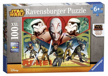 Ravensburger Puzzle 100 el Star Wars Rebels