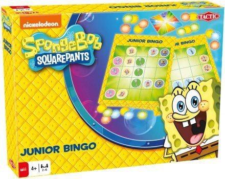 Sponge Bob Junior Bingo