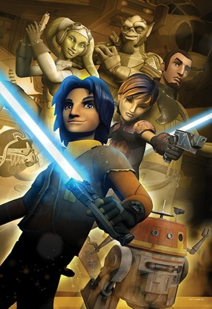 TREFL Puzzle 100 el Star Wars Rebels