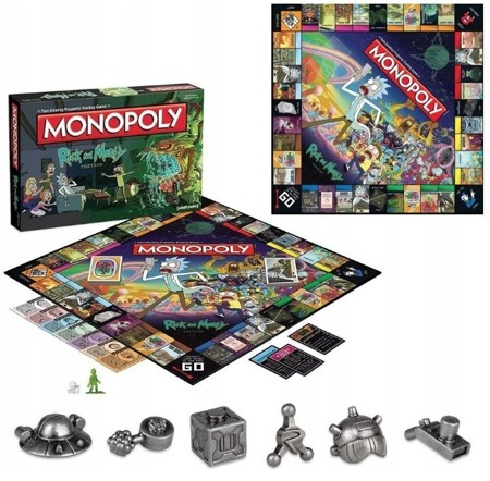 Winning Moves Monopoly Rick and Morty Wersja Polska